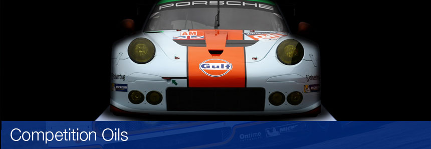 Automotive Competition Oils by Gulf Oil Ireland